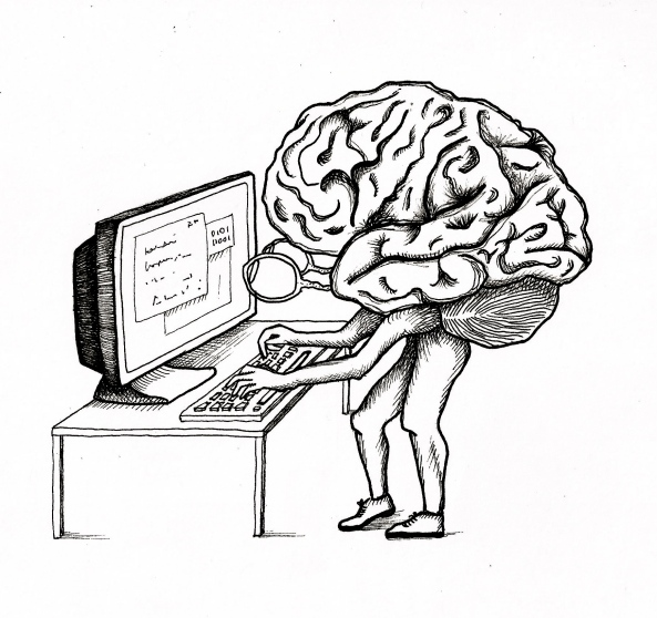 the computer brain essay The computer, they argued, shouldn't try to be independently intelligent, like r2-d2 rather, it should be a tool that works with the human brain to make it more powerful, a concept that.